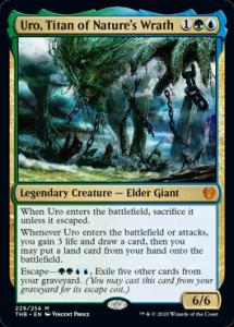Uro, Titan of Nature's Wrath MTG Card