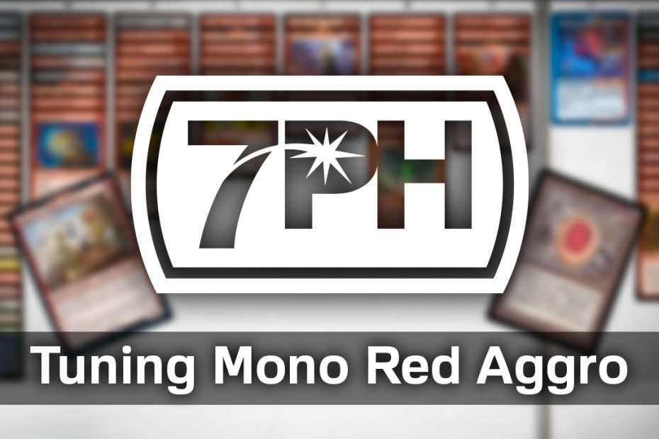 Tuning Mono Red Aggro in 7 Point Highlander by Zen Takahashi