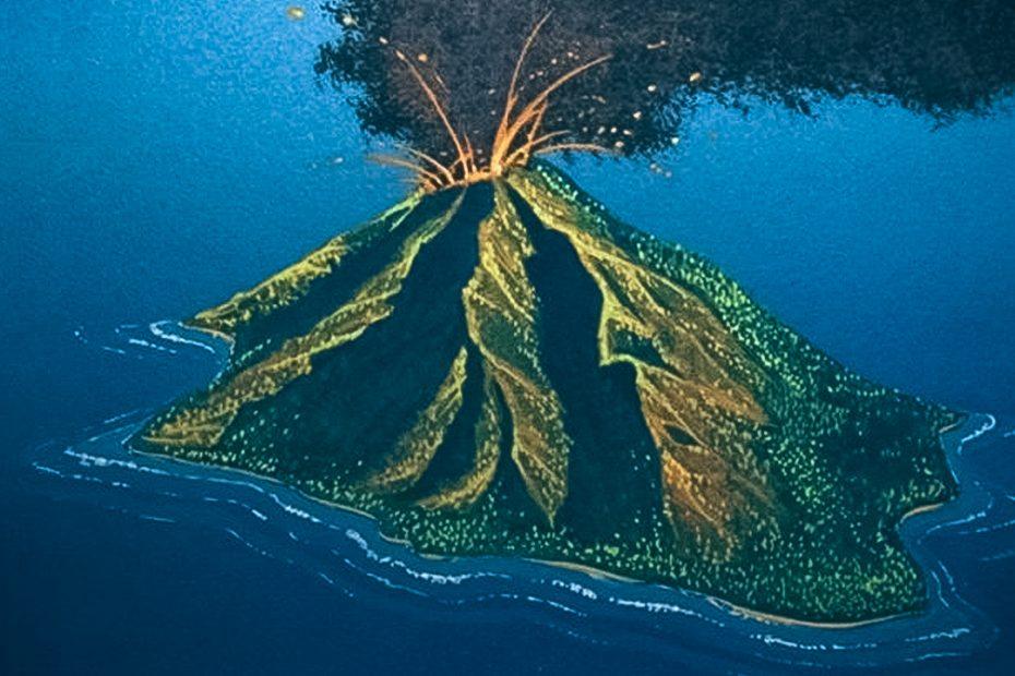Volcanic-Island-Art